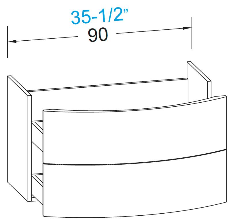 meubles de salle de bains serie latitudine. Black Bedroom Furniture Sets. Home Design Ideas