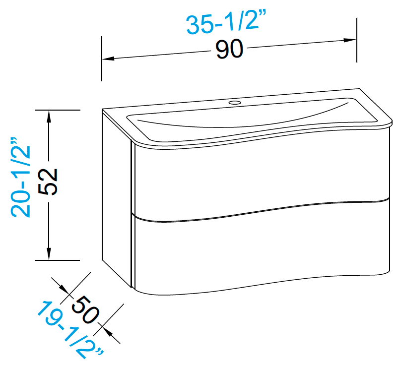 meubles de salle de bains serie onda. Black Bedroom Furniture Sets. Home Design Ideas