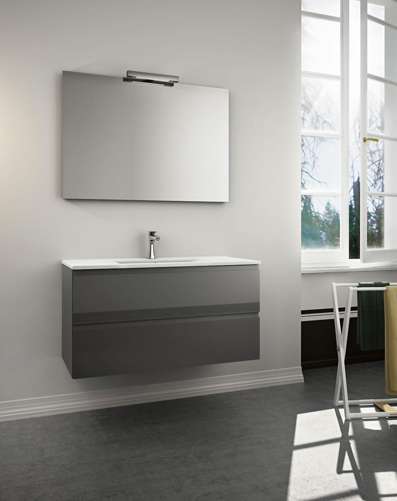 Meubles de salle de bains conomique serie urban - Salle de bain economique ...