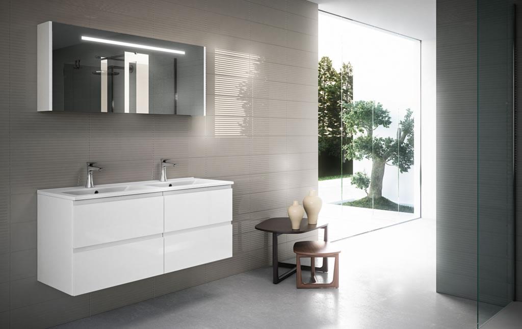 meubles de salle de bains conomique serie urban. Black Bedroom Furniture Sets. Home Design Ideas