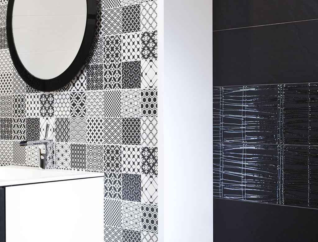 Frise Salle De Bain Horizontale Ou Verticale faiences de salle de bain série nebraska